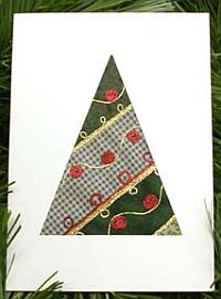 No-sew Quilt Christmas Tree