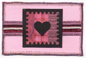Heart Stamp Card