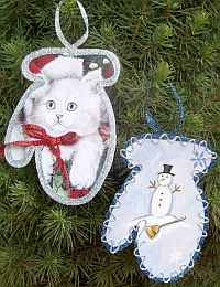 Easiest Christmas Ornaments #3
