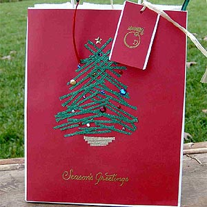 Seasons Greetings Gift Bag