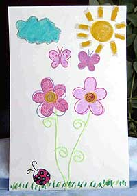 Kid's Sunshine Card
