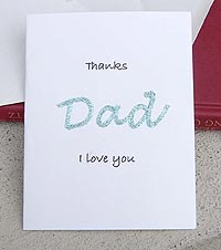 Iron-On Fathers Day Cards