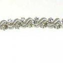Frieze/Bullion Combination  Silver 9.75""